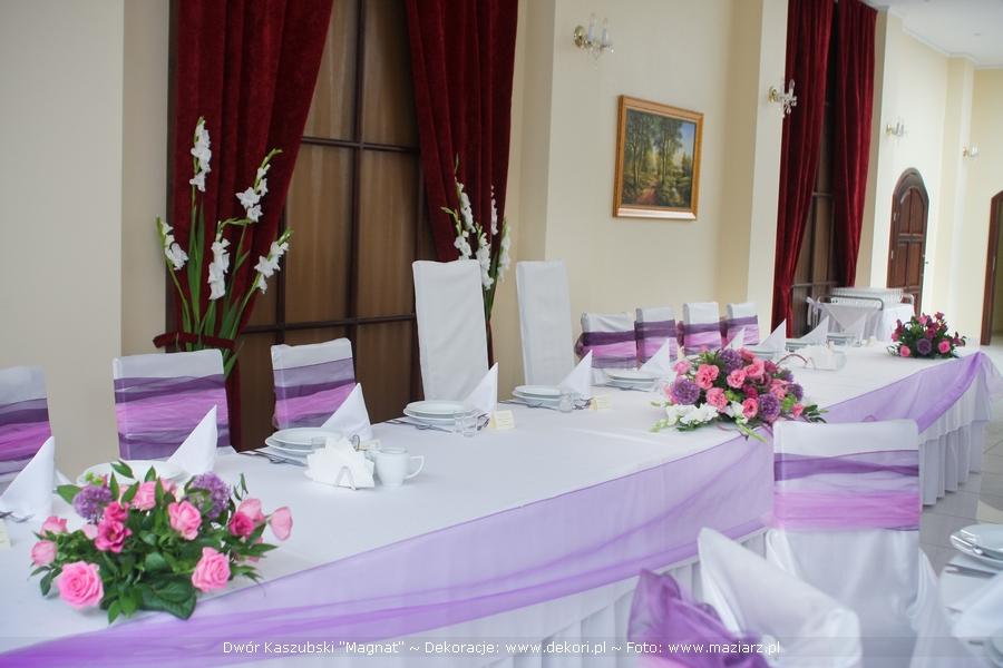 Dekoracje weselne Magnat w Bojanie