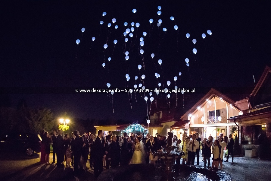 balony led Gdynia Gdańsk
