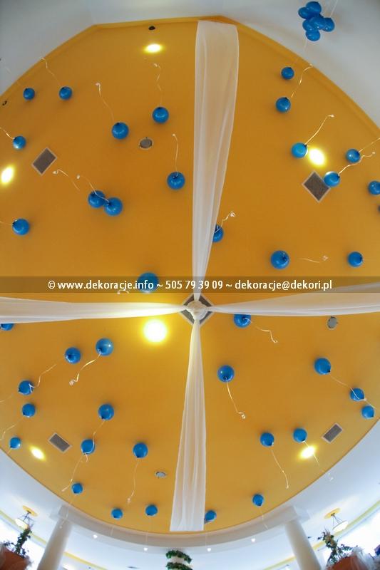 balony pod sufitem Gdańsk
