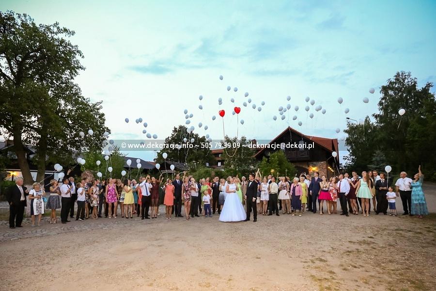 balony z helem na wesele Gdynia Trójmiasto