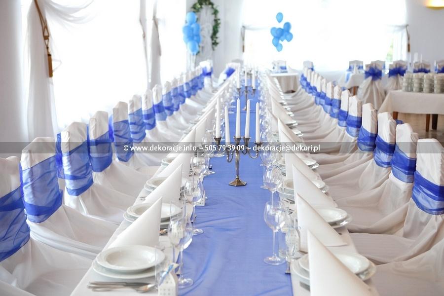 białe pokrowce ślub wesele Sopot