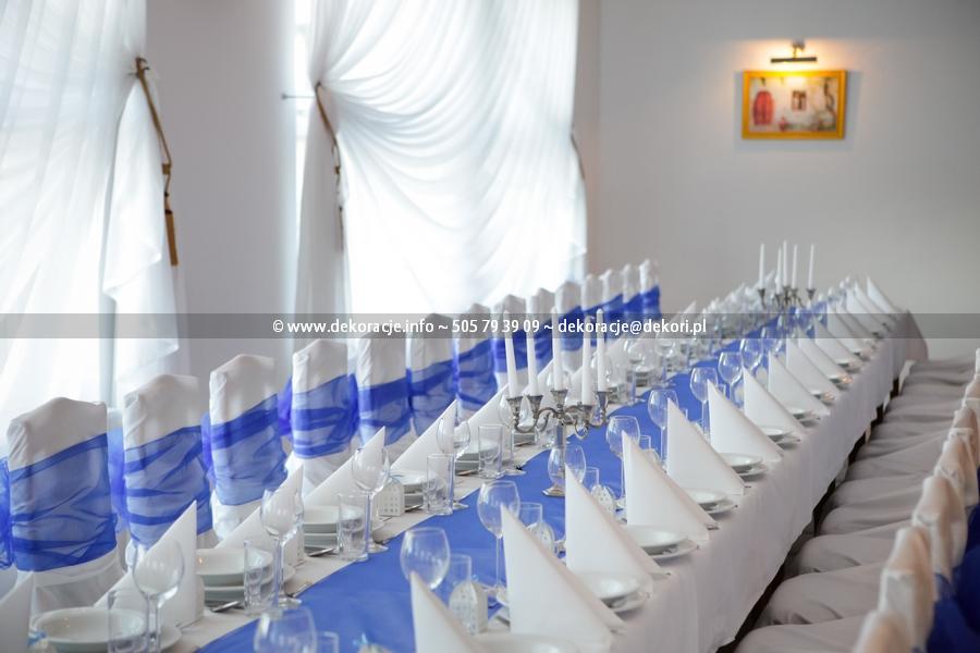dekoracja na wesele Gdańsk