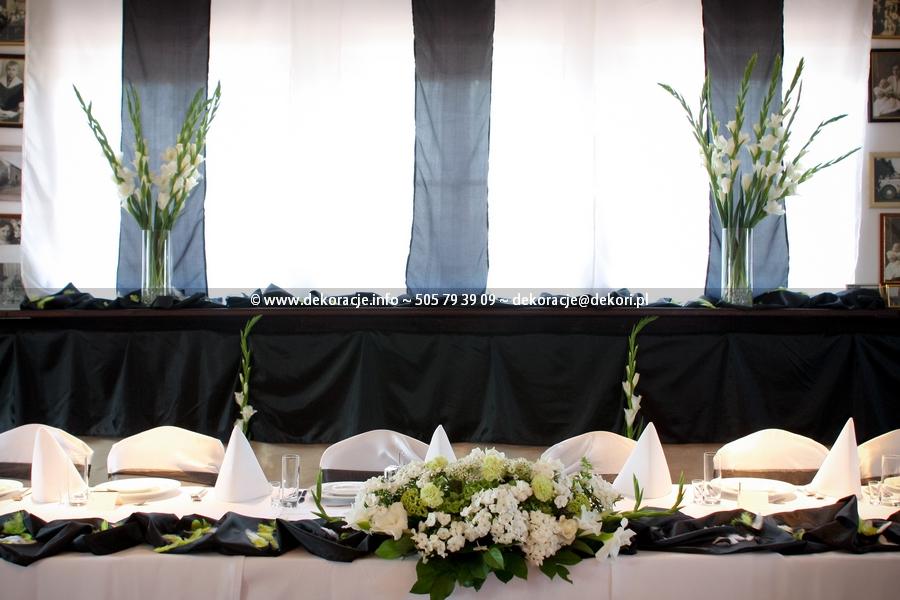 dekoracja sali weselnej Reda