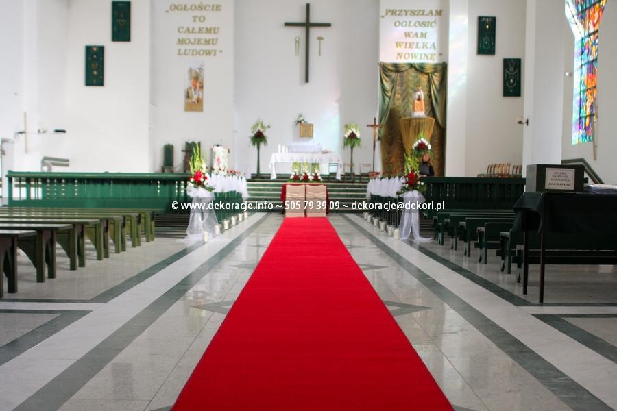 dywan na ślub Gdynia