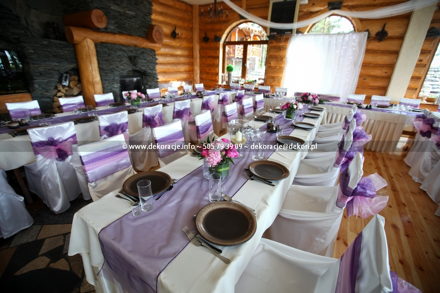 dekoracja stolu na slub w adler