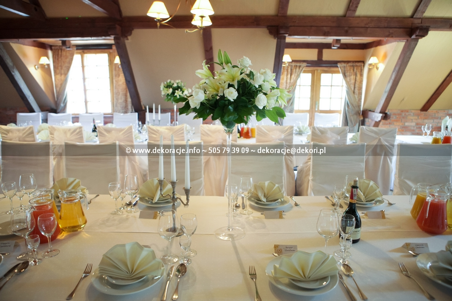 dekoracja wesela w dolina charlotty