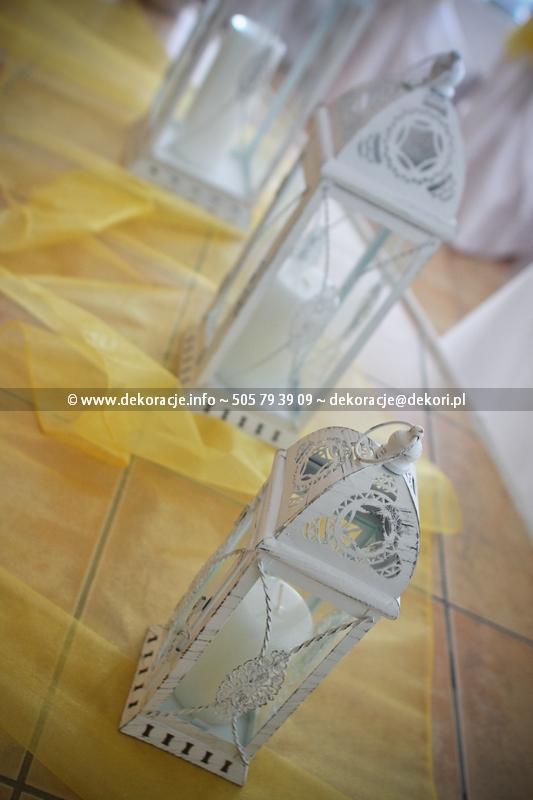 dekoracje na ślub Gdańsk
