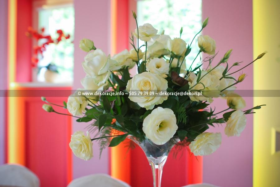 malinowy ogrod dekoracja ślubna