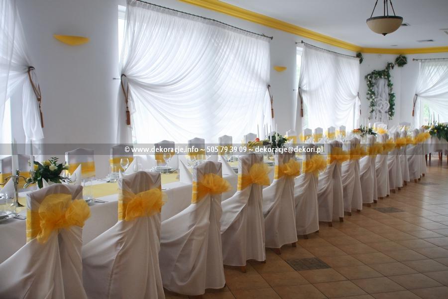 wynajem pokrowców ślub wesele