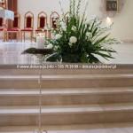 Kościół Świętej Trójcy ~ Gdynia Dąbrowa ~ Dekoracja ślubna kościoła