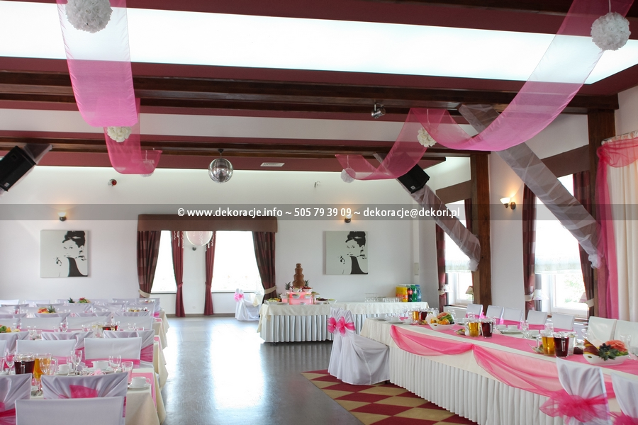 dekoracja sali wrota kaszub