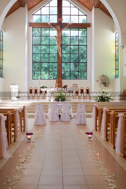 wystrój kościoła Gdynia