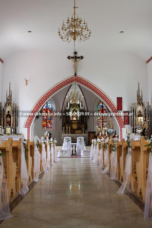 dekoracja kościoła chwaszczyno