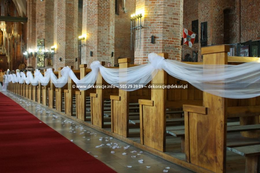 dekoracja kościoła Gdańsk