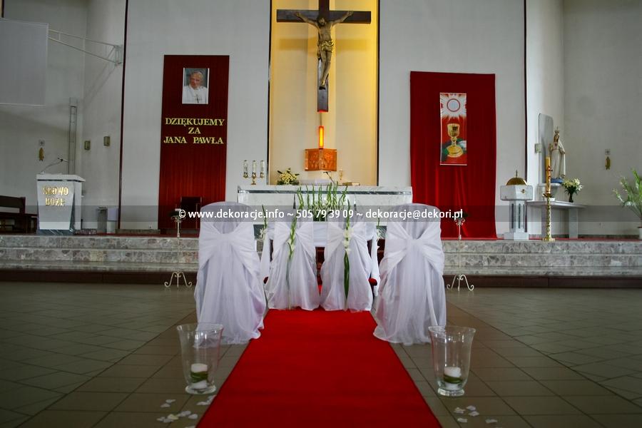 dekoracja kościoła Gdynia Karwiny