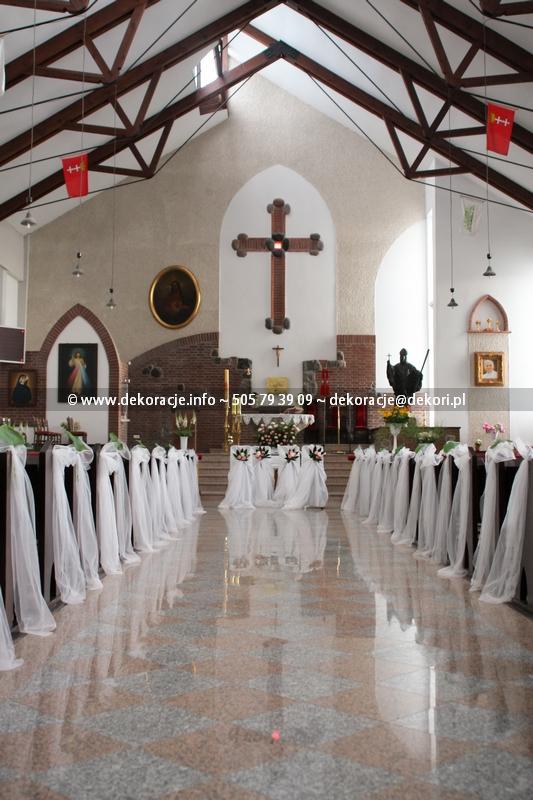 dekoracja kościoła Świbno