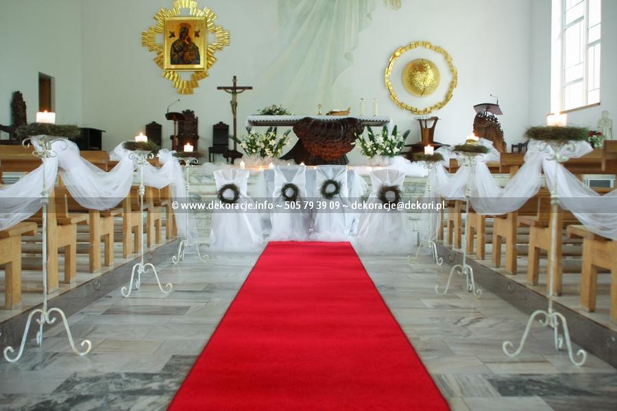 dekoracja kościoła w Juracie