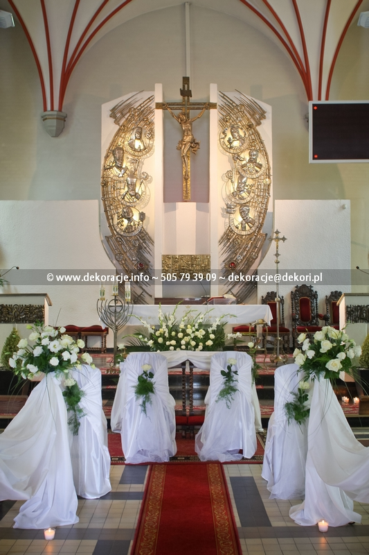 dekoracja ślubna Gdańsk Orunia