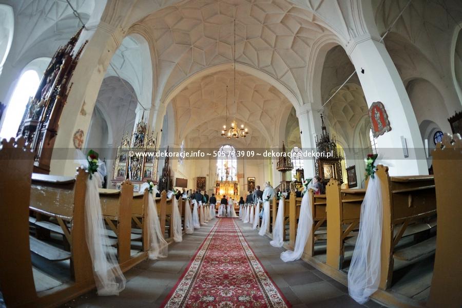 dekoracja ślubna Malbork