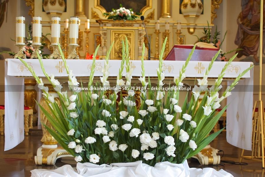 dekoracja ślubna Rumia