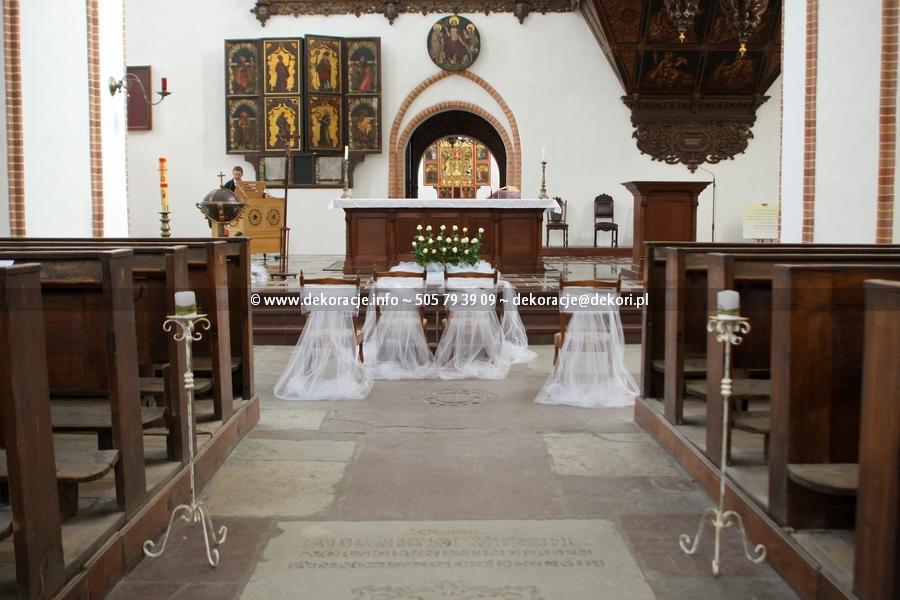 dekoracja ślubna w Gdańsku