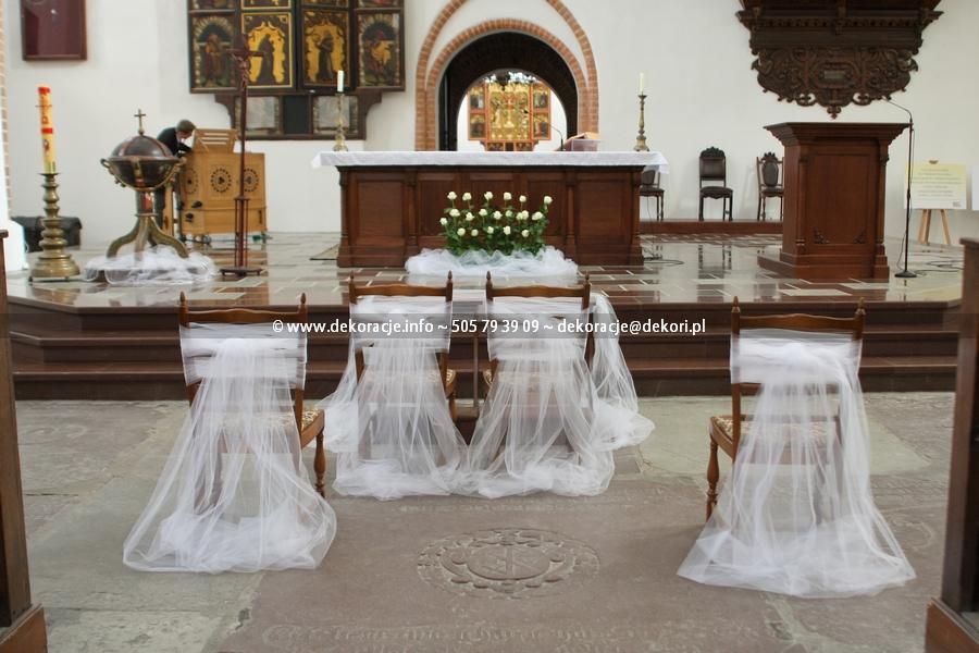 dekoracje kościoła gdańsk