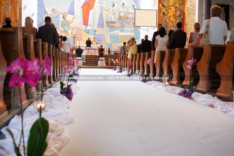 dekoracja na ślub Gdynia