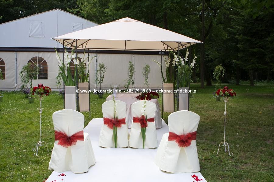 dekoracje ślubne Leźno