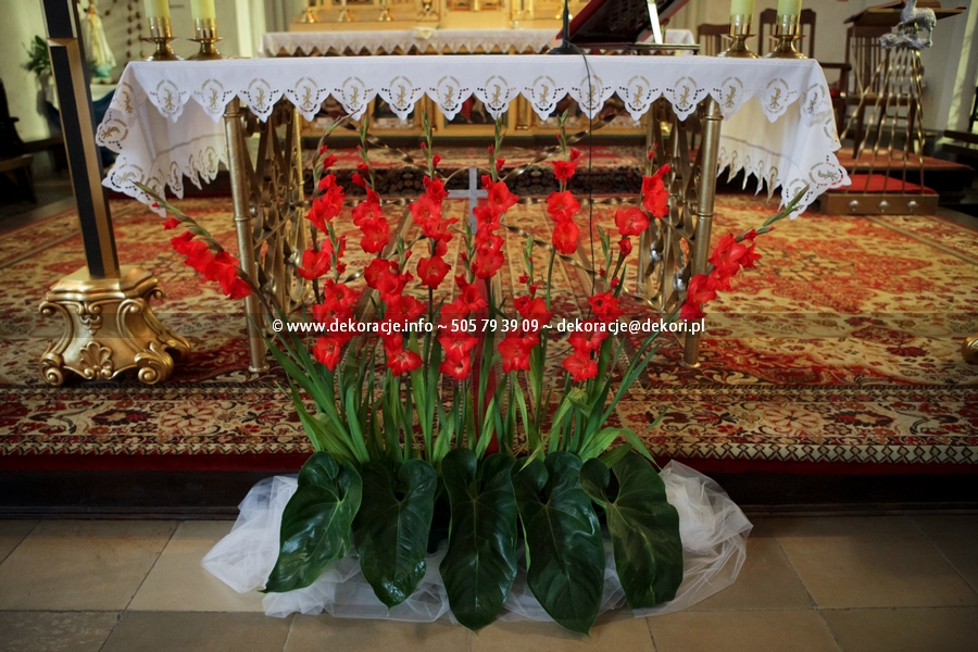 dekoracje ślubne w Malborku