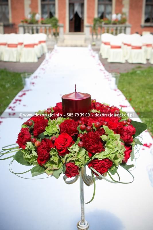 wesele w pałacu w Leźnie