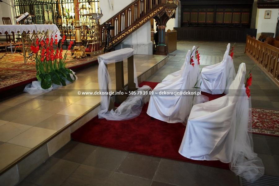 wynajem pokrowców do kościoła Gdańsk