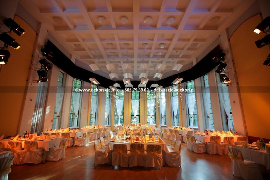dekoracja ślubna PFK