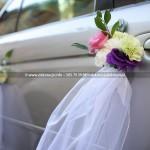 Dekoracja Ślubna Auta ~ Wystrój Samochodu Gdynia
