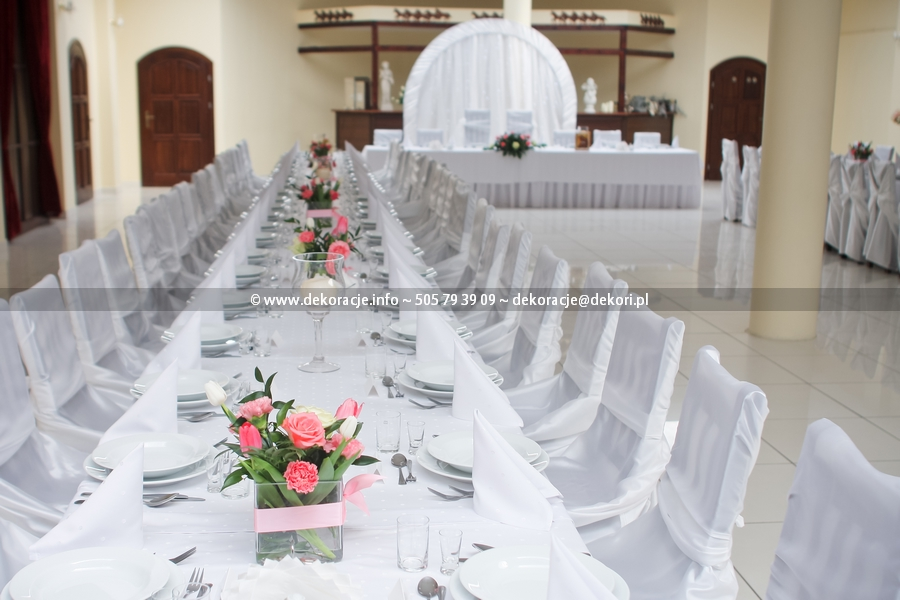 dekoracja ślubne Magnat