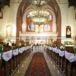 Kościół Św.Jerzego Sopot ~ Dekoracja Ślubna Kościoła w Sopocie na Monciaku