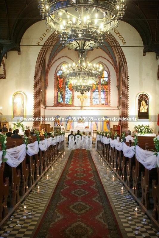 dekoracja kościoła Sopot
