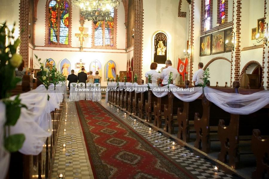 dekoracja kościoła św jerzego Sopot