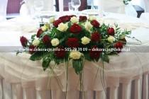 dekoracja na ślub falko rumia