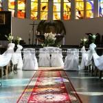 Kościół  MB Nieustającej Pomocy i św. Piotra Rybaka w Gdyni ~ Dekoracja Ślubna Kościoła na Portowej Gdynia
