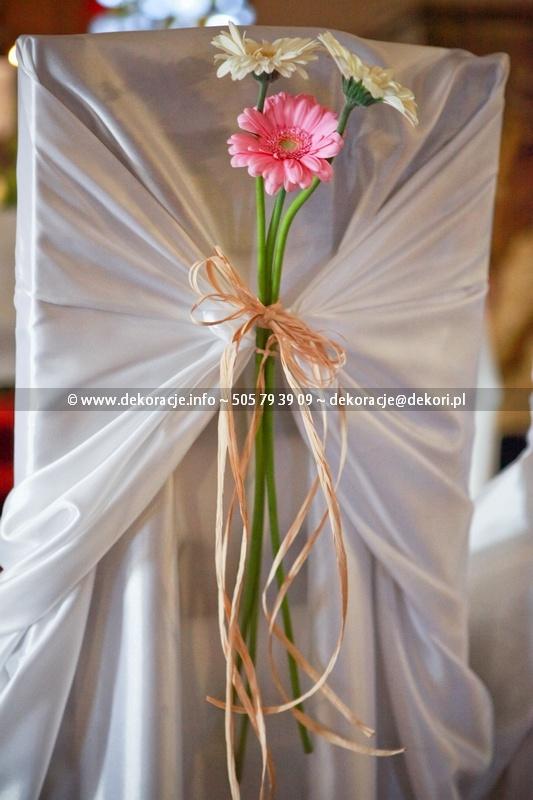dekoracje ślubne w kościele Gdynia