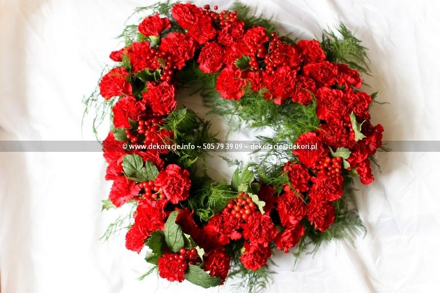 serce z kwiatów ślub