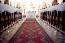 wystrój kościoła Sopot