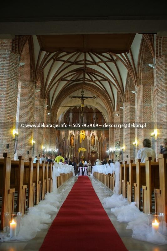 dekoracja na ślub Gdańsk