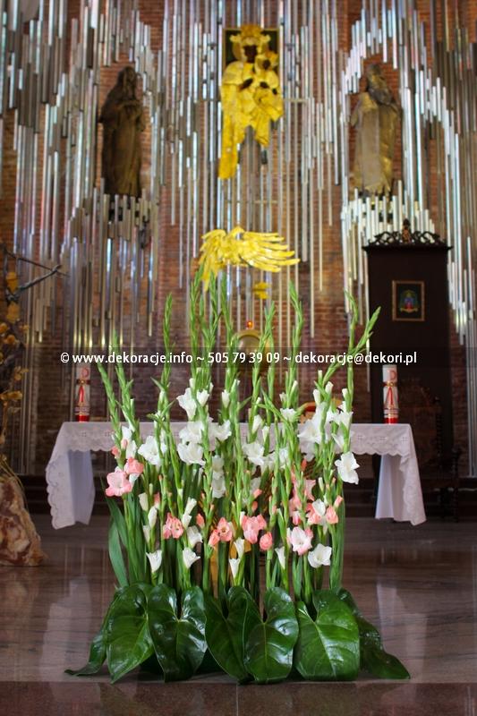 dekoracje ślubne kościoła Gdańsk