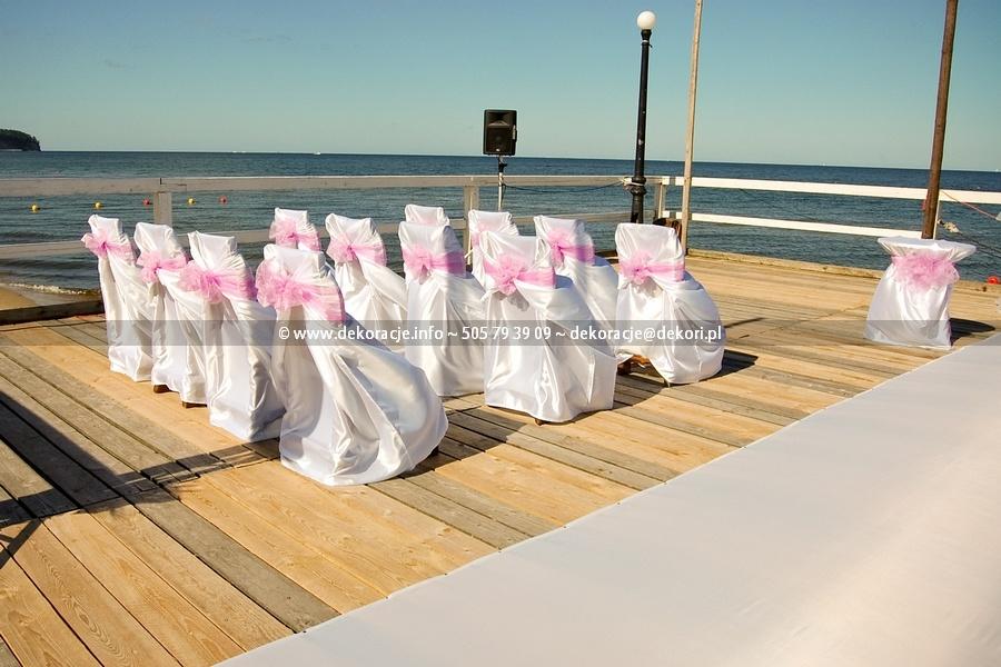 ślub wesele na plaży Sopot