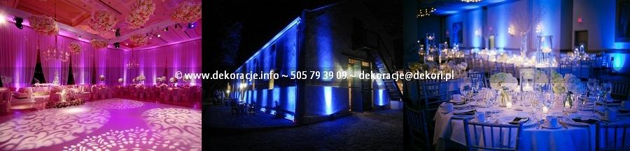 dekoracje światłem Gdynia Gdańsk