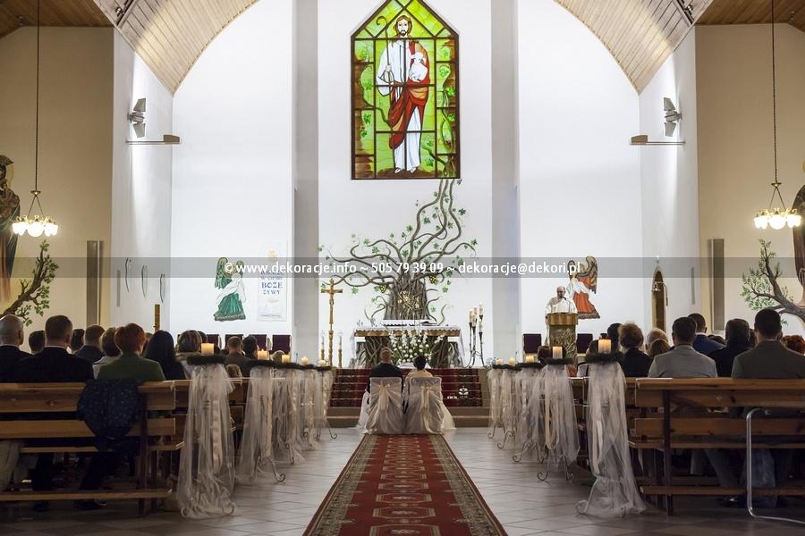 dekoracja kościoła na cisowej Gdynia