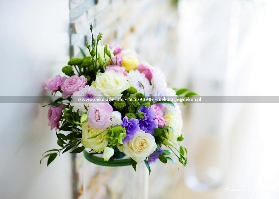 dekoracje ślubne sali Sopot