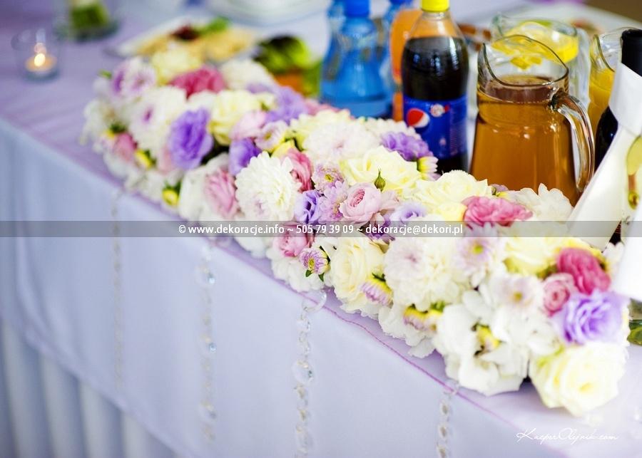 dekoracje złoty staw