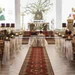 Kościół Chrystusa Dobrego Pasterza w Gdyni ~ Dekoracja Ślubna Kościoła na Cisowej